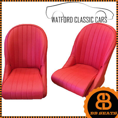 Bb Vintage Universale Rosso Contenitore Supporto For Classic & Vintage Auto Low