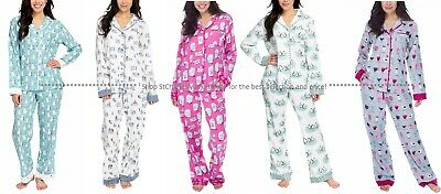 Munki Munki Ladies' 2-piece Flannel PJ Set, Colors & Sizes, NEW WITH TAGS
