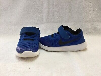 99be17c380f9d Nike Free RN Infant Toddler Boys Blue black Shoes--size 9 C