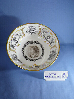 1972 Royal Worcester The Silver Wedding Bowl Stand - Certificate 159/500