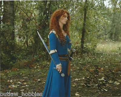 Amy Manson Once Upon A Time Autographed Signed 8x10 Photo COA #3