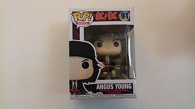 funko,pop,neuf,ANGUS YOUNG,ACDC,rock,91
