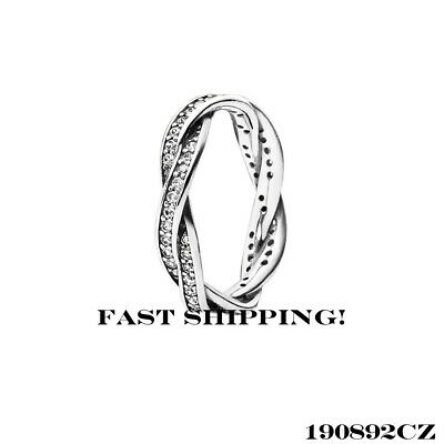 b5c9325df AUTHENTIC PANDORA ENTWINED rose ring 180919CZ 50 mm (5) - $59.99 ...