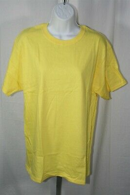 908B3 Hanes 074 Beefy T 100% Cotton Tagless Graphic T-Shirt 3 Pack XL Gold