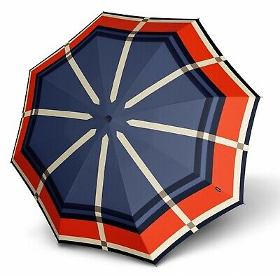 Knirps Umbrella Stick Long AC Cage Red
