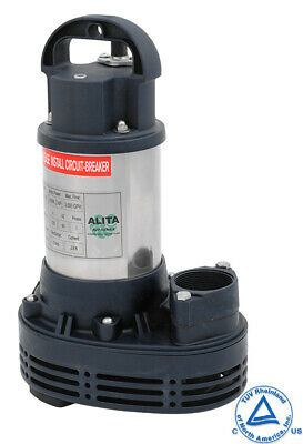 ALITA AUP-250 4200 gph Submersible Pump,Water Garden,Waterfall,Pond 2yr WARRANTY