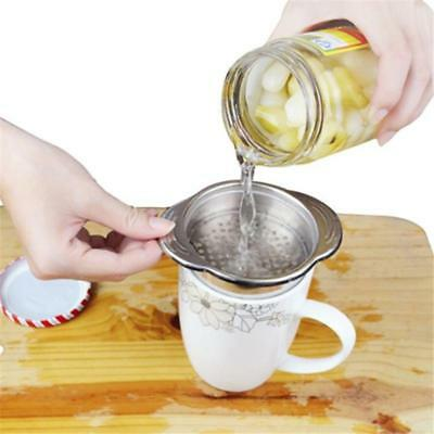 Can Tin Food Drainer Kitchen Tuna Sweetcorn Strainer Stainless Sieve ON SALE