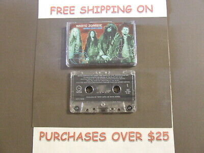 White Zombie Astro-Creep 2000 Cassette With More Human Than Human (C-6)