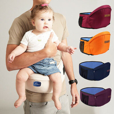 PORTABLE BABY KIDS Waist Belt Hip Seat Chair Travel Safety Toddler Front  Carrier