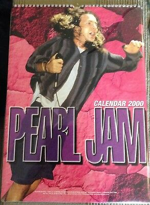 PEARL JAM  Limited Millennium 2000 CALENDAR, never used   RARE NEW