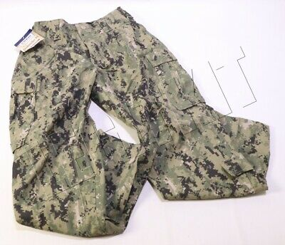 NEW NWU Type III/AOR2 FROG Combat Pants MEDIUM-REGULAR (MR) Trousers Navy SWCC