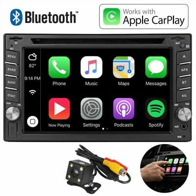 6.2 '' Autoradio 2DIN USB BLUETOOTH Apple CarPlay APP Autoradio DVD CD Spieler
