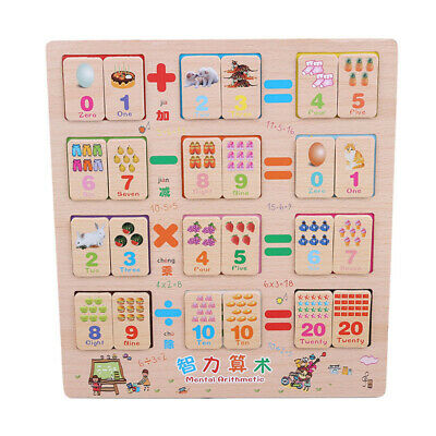 Cartoons Animal Wooden Jigsaw Puzzle Toy Children Early Study Education Gift S