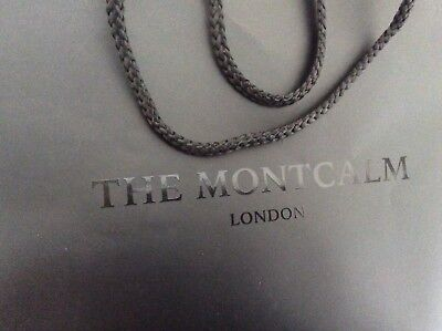 THE MONTCALM LONDON 43x30x12 cm Shopping Paper Carrier Bag Collectable Gift  Bag 05f7bf83f3fdd