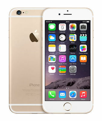 Apple iPhone 6 - 128GB - Gold Unlocked (CDMA + GSM) **EXCELLENT CONDITION**