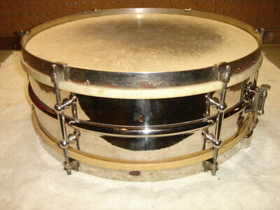 "Vintage 1922 Ludwig & Ludwig Model #1 All-Around Snare Drum 5"" x 14"" All-Brass"