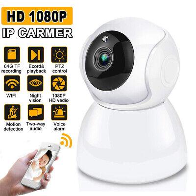1080P HD Wireless Wifi IP Camera CCTV Security Webcam Home Baby Pet Monitor CAM