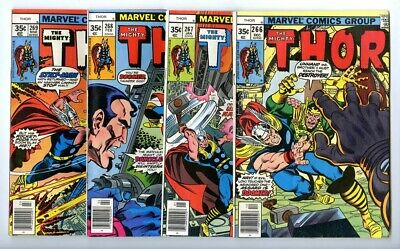 Thor #266,267,268,269 Avg F/VF New Marvel Bronze Copper Collection