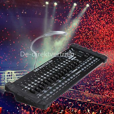 Pro DMX 512 Controller Light Operator DJ Stage Party384CH Console