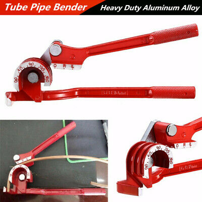 180° Aluminum Alloy Car Automobile Tube Pipe Bending Bender Tool Curving Plier*1