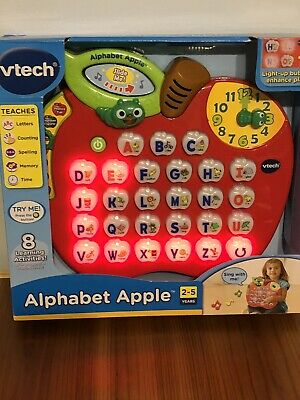 Vtech Alphabet Apple Interactive Electronic Learning Toy Ages 2-5