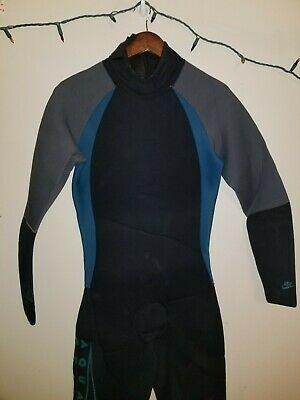 Vintage 90s Nike Aqua Gear One Piece Neoprene Wetsuit Medium