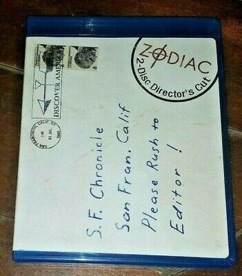 Zodiac *USED* (Blu-ray Disc, 2009, 2-Disc Set, Director's Cut )
