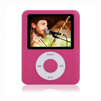 "iPod Style 1.8"" LCD 8GB MP3 MP4 Music Video Media Player FM Radio Photo Viewer"