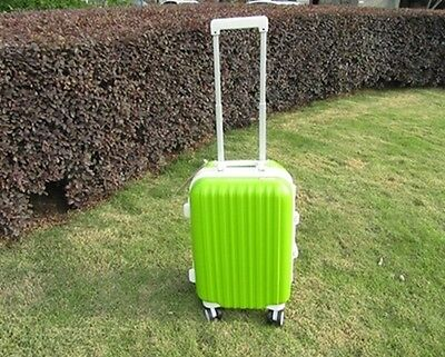 1X 28 Inch Green Universal Wheel Lock Travel Suitcase Luggage Bag