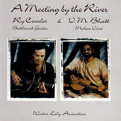 (WORLD - AFRICA) RY COODER & V M BHATT / A MEETING BY THE RIVER - new condition