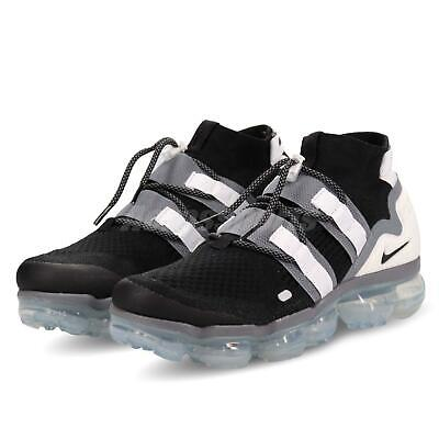 330b7bac4421 Nike Air Vapormax FK Utility Flyknit Black Grey White Men Shoes AH6834-003