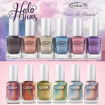 Color Club HALO HUES HOLOGRAPHIC HOLO Nail Polish - Choose from 17 colours AUST
