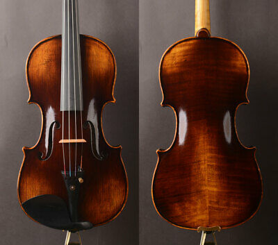 German dark color! Antonio Stradivari Copy ! A T19+  Violin ,rich warm best tone