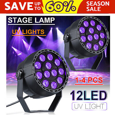 Disco Party DJ LED Stage Effect Light Lamp Magic DMX UV Black Light Wall Washer