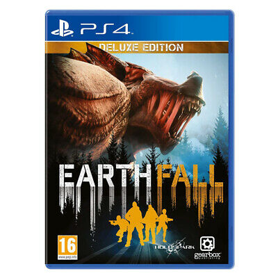 Earthfall Deluxe Edition PlayStation PS4 2018 EU English Factory Sealed