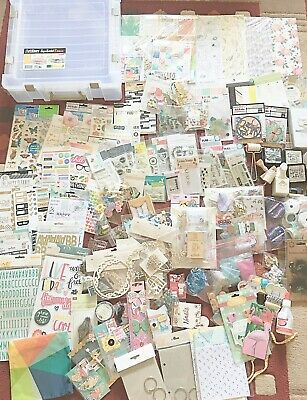 Huge Cardmaking Scrapbooking Papercraft Clear Out Job Lot