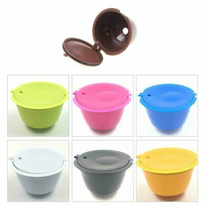 NEW Refillable Reusable Capsule Pods Cup for Nescafe Dolce Gusto Machine KS