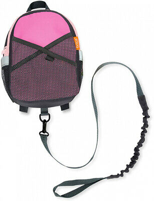 Safety Harness Backpack Pink/Gray