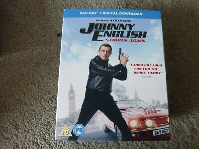 johnny english strikes again  - bluray sealed new