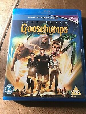 Goosebumps - Blu-ray 3D DVD