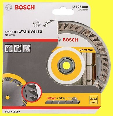 125 mm Bosch 2608602394 Standard for Universal Turbo Diamond Cutting disc