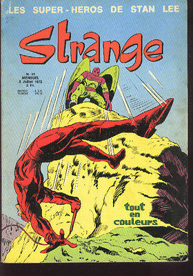 STRANGE 31 Les Super-Heros de Stan LEE 72 No Poster Comic LUG