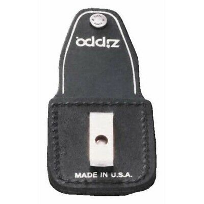 Zippo Black Pouch With Clip Lighter