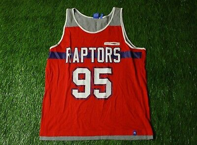 8d18481f3 Toronto Raptors Canada   95 Fan Basketball Nba Vest Shirt Jersey Adidas  Original