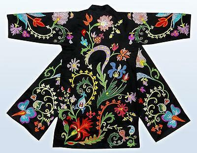 Beautiful Uzbek Fully Silk Embroidered Cute Bag A6805 Embroidery