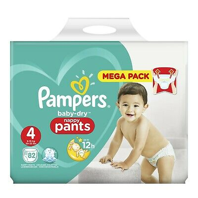 Couches Pampers Pants Mega Pack Taille 3 / Taille 4 / Taille 5 / Taille 6