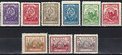 Lithuania - 165 - 173 - Complete Mh Set - Look!