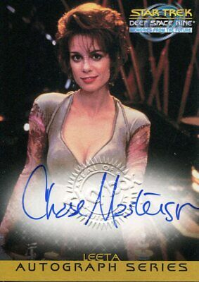 Star Trek Deep Space Nine Memories From The Future Autograph A20 Chase Masterson