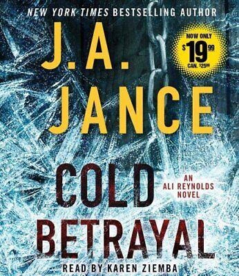 Cold Betrayal by J a Jance 9781442398054 (CD-Audio, 2015)