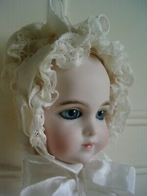 BRU BREVETE HEAD ONLY for 15 inch DOLL ANTIQUE REPRODUCTION